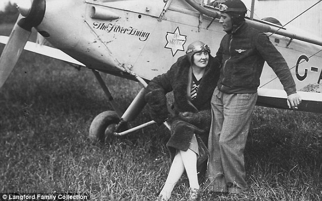 EXCLUSIVE – A bitter rivalry with Amelia Earhart, a mixed-race marriage and a ban from flying because of her menstrual cycle: The incredible and utterly tragic story of 'Lady Icarus' – the first person to fly solo across Africa