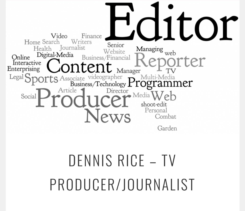 TV Producer/Journalist