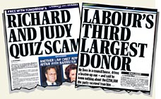 Nine nominations for The Mail on Sunday in prestigious awards